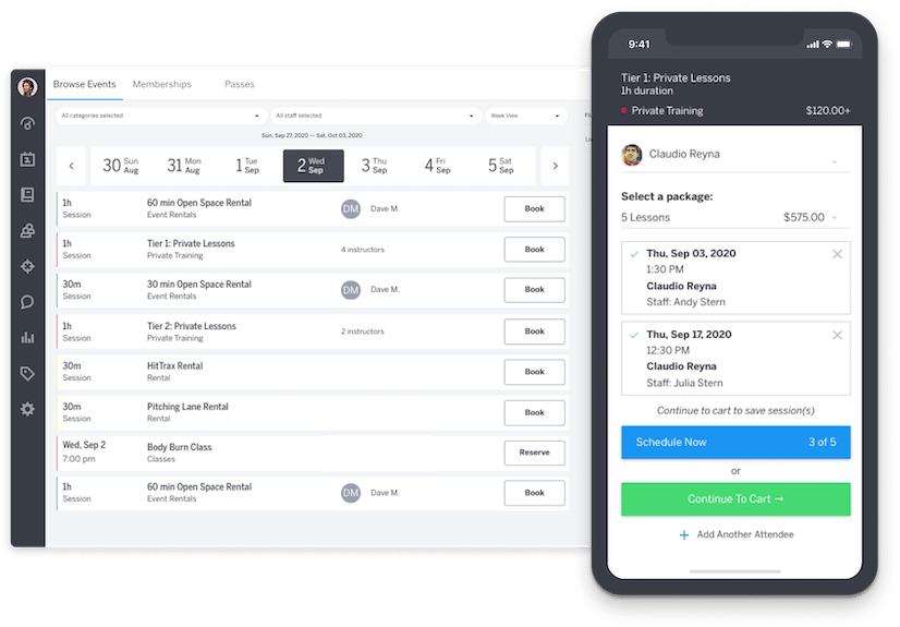 online booking and scheduling software