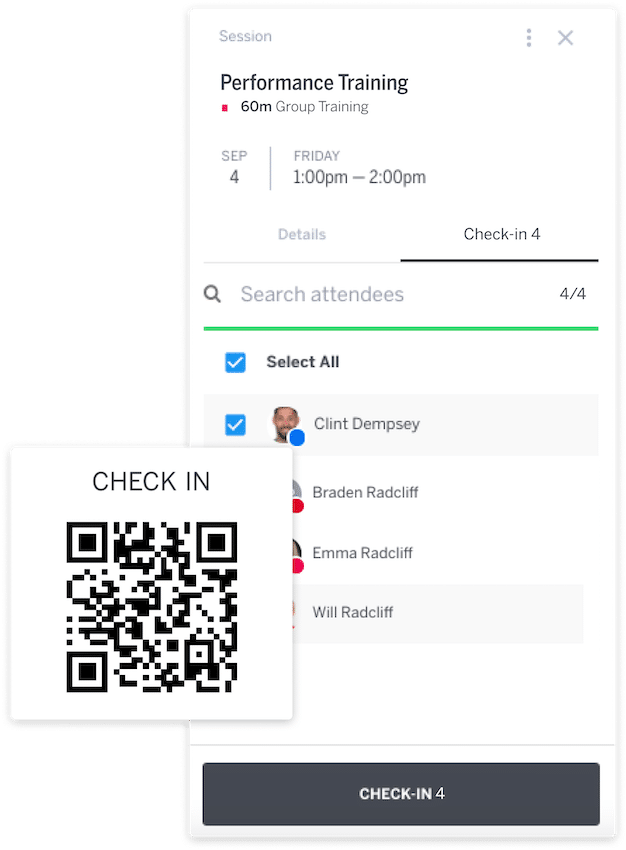 automate client check-in